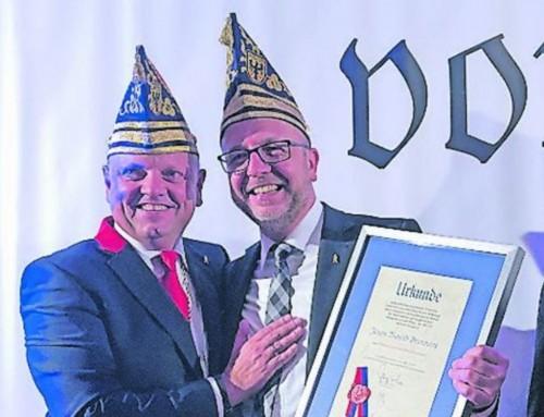 Jürgen Brammertz ist nun Penn-Ehrenkommandant