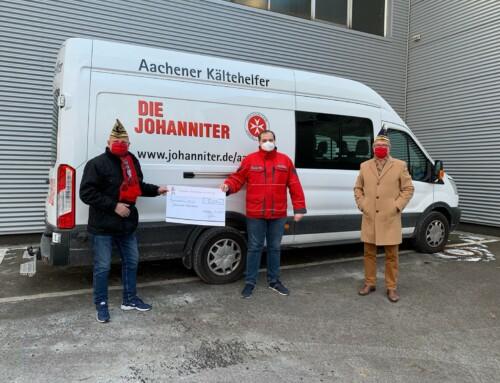 Unterstützung für den Kältebus der Johanniter