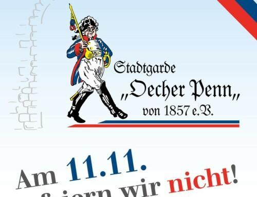 Am 11.11. feiern wir nicht!